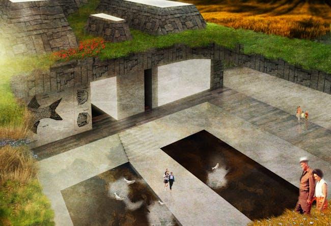Bridging for Divided Waters Studio-by Daniel Elmore