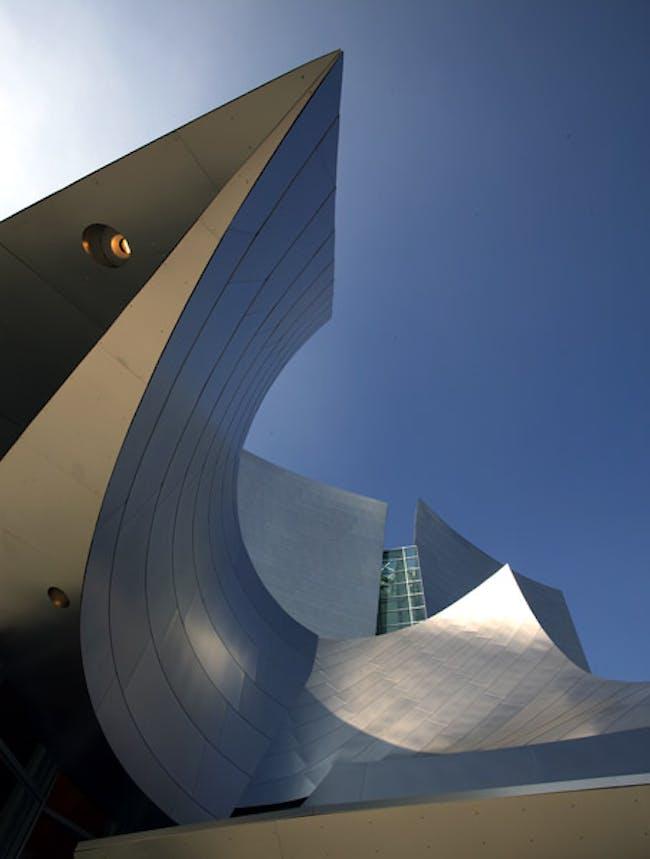 Frank Gehry's Walt Disney Concert Hall. Credit: Wayne Thom/WUHO Gallery
