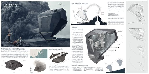 Special Recognition: Volcano Lite. Author: Patorn Sangruchi (Architecture student) | USA