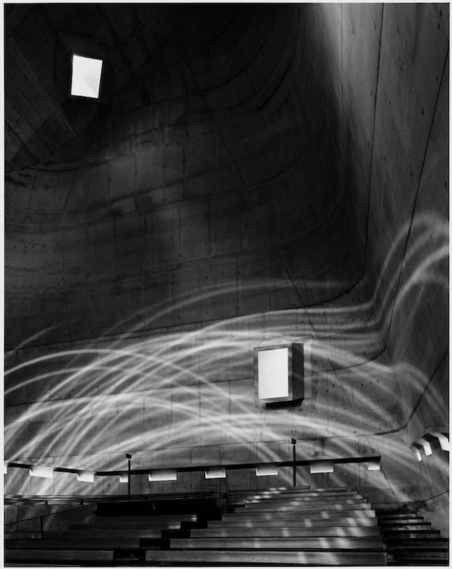 Firminy C, architecture by Le Corbusier, 2007. Photo © Hélène Binet. Courtesy ammann // gallery
