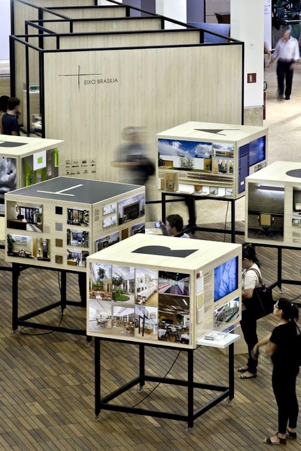 Um a um   Expografia   Brasilia