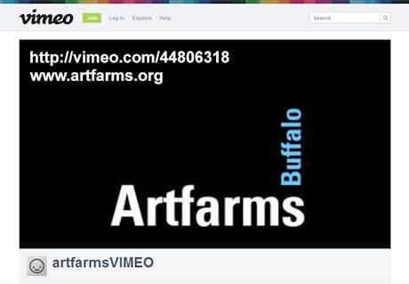 ARTFARMS Buffalo project video http://vimeo.com/44806318