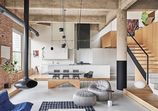 Michigan Loft, Chicago | Vladimir Radutny Architects. Photo: Mike Schwartz.