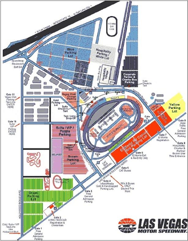 Las vegas motor speedway justin barth archinect for Las vegas motor speedway seating map
