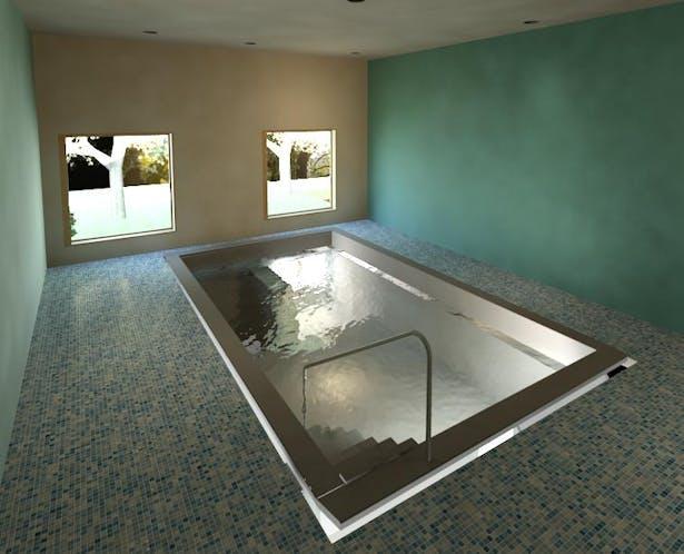 Hyrdotherapy room