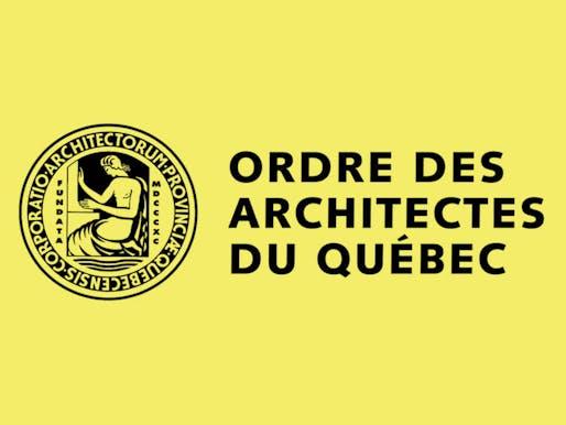 Ordre des architectes du Québec (OAQ) logo.