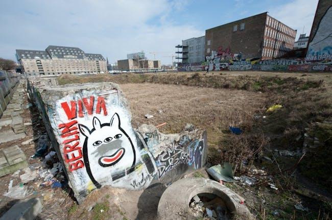 site of proposed BMW Guggenheim Lab project in Kreuzberg