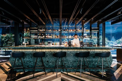 'Hospitality Design': West Hotel by Woods Bagot. Photo Credit: Felix Forest.