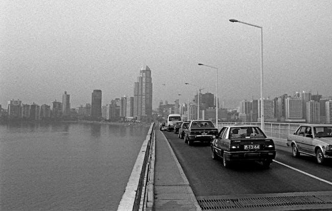 Macau in 1991. Image via the Guardian.