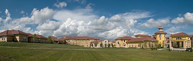 The village of Santa Marta.
