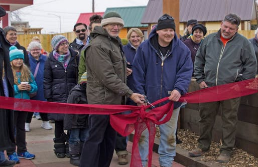Occupy Madison and homeless individuals teemed up to build a village of tiny homes. Credit: Occupy Madison via Al Jazeera