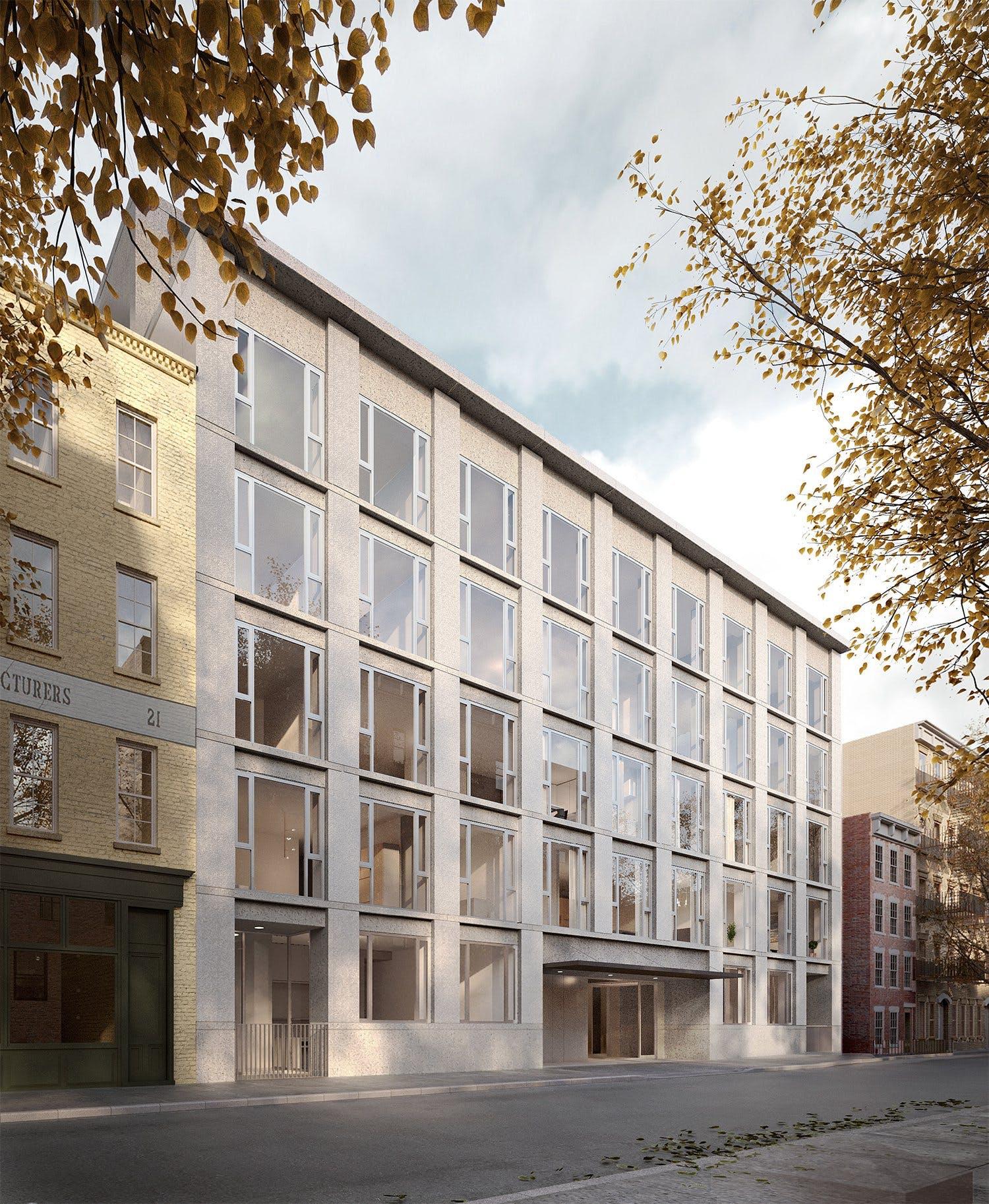 Chipperfield's Jane Street Proposal Faces Vehement