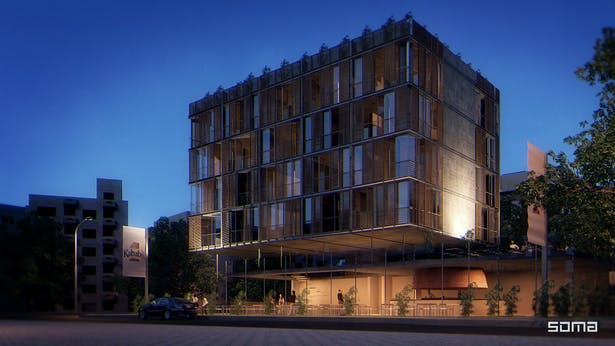 Michel Abboud Design for Boutique Hotel