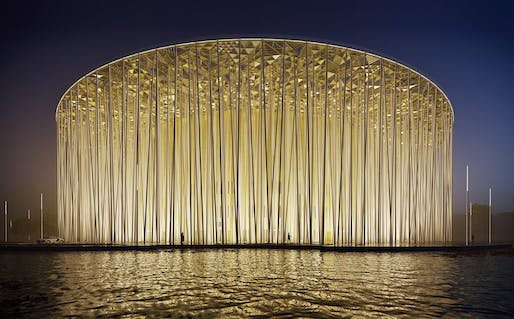Wuxi Taihu Show Theatre by Steven Chilton Architects. Credit: Steven Chilton Architects.