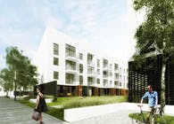 Low-cost multifamily residential in Wysoka near Wroclaw, Poland.