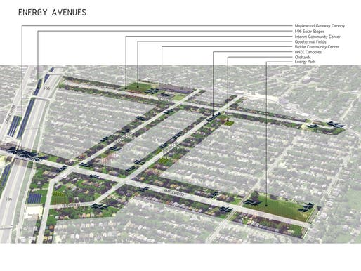 GOLD AWARD: Bottom-up neighborhood planning, Detroit, MI, USA. Main author: Constance C. Bodurow - studio[Ci], Detroit, USA.