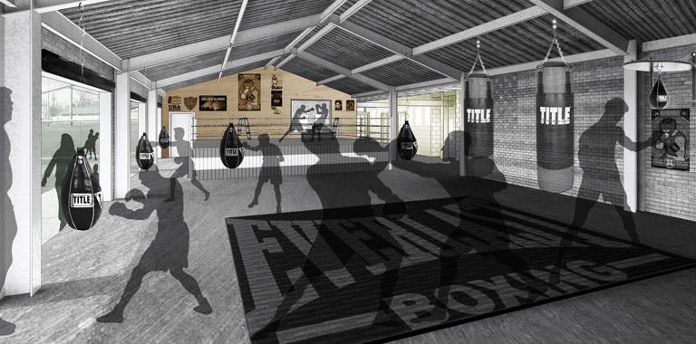 Freedom By Design In Manhattan Designs A Boxing Gym Aias