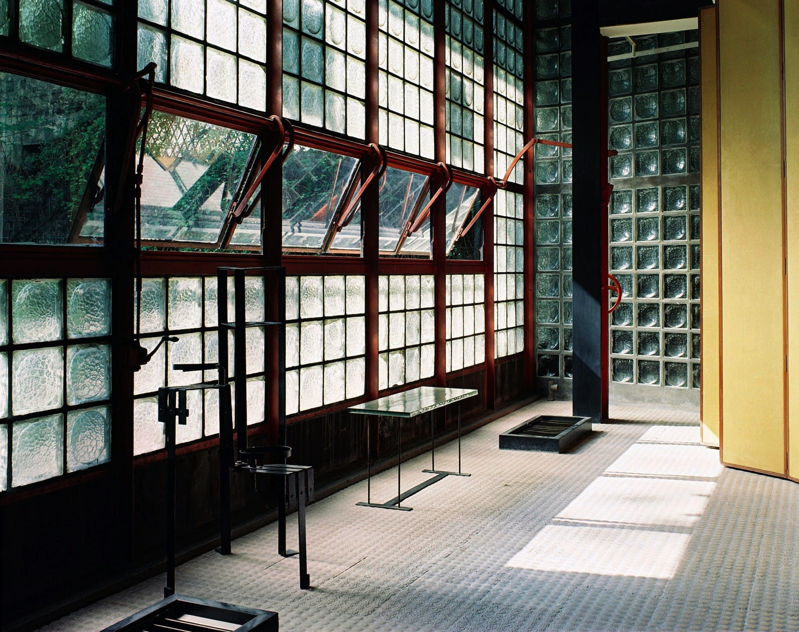 A La Maison De Verre Of Step Inside The First U S Exhibition Of Pierre Chareau