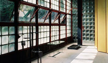 Step inside the first U.S. exhibition of Pierre Chareau, co-architect of the Maison de Verre