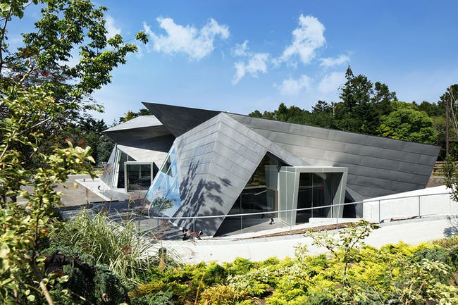World Architecture Festival 2015 shortlist - Hiroshi Senjyu Museum Karuizawa Cafe Shop by Hideo Yasui AIT.