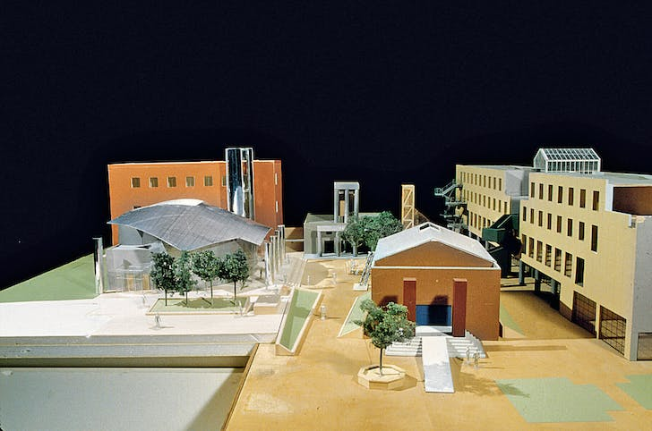 Model for Loyola Law School. Image courtesy of LACMA.