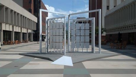 Anatomical Donor Wall at Volker Plaza