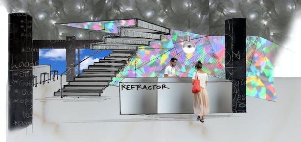 Refractor First Floor, Reception