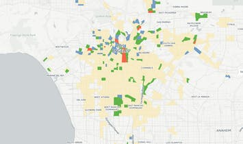 Mapping how LA's expanding Metro network fuels gentrification (or not)