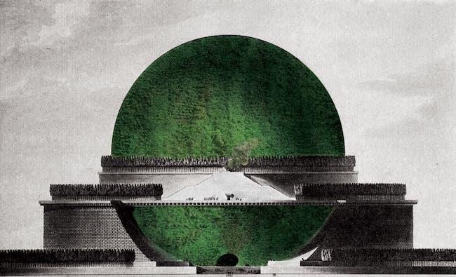 Sustainable Cenotaph for Isaac Newton – Boullée, 1784
