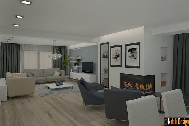 Proiecte design interior - Amenajari interioare case de lux