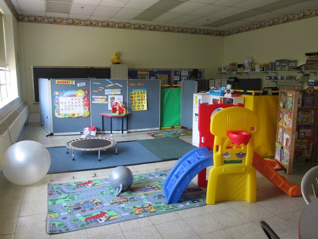 The 'little kids' room