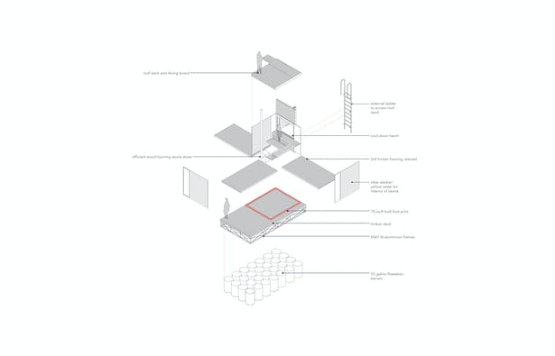 Construction axonometric