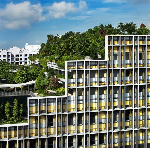 Commercial Architecture (Commendation): Kampung Admiralty by WOHA. Photo: Patrick Bingham-Hall, courtesy of the Australian Institute of Architects.