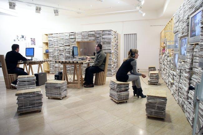 Ana Dana Beros: Think Space, Zagreb, Croatia. Wheelwright proposal: INTERMUNDIA: Re-Imagining Border-Scape in Mediterranean Countries. Image courtesy Wheelwright Prize