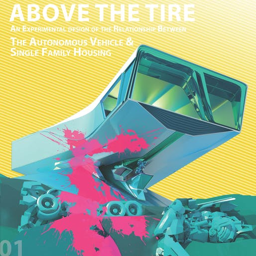 Innovation award, 'Above the Tire', by Dazhong Yi.