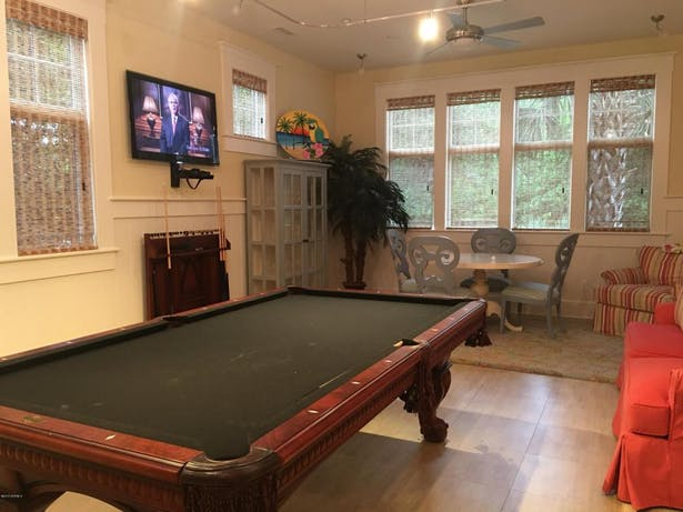 LOWER COMMERCIAL SPACE USED AS REC ROOM