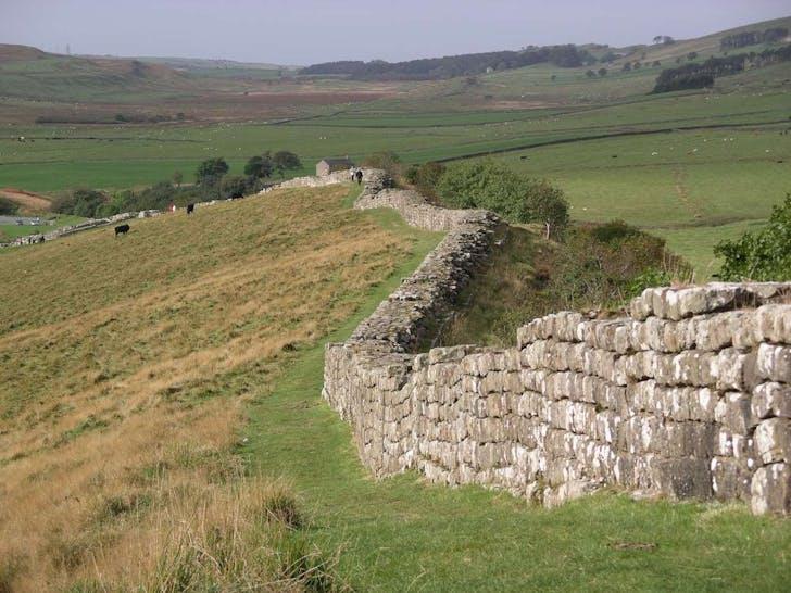 Hadrian's Wall. Image: Wikipedia