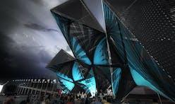 """SCI-Arc Pavilion """"League of Shadows"""" by P-A-T-T-E-R-N-S"""