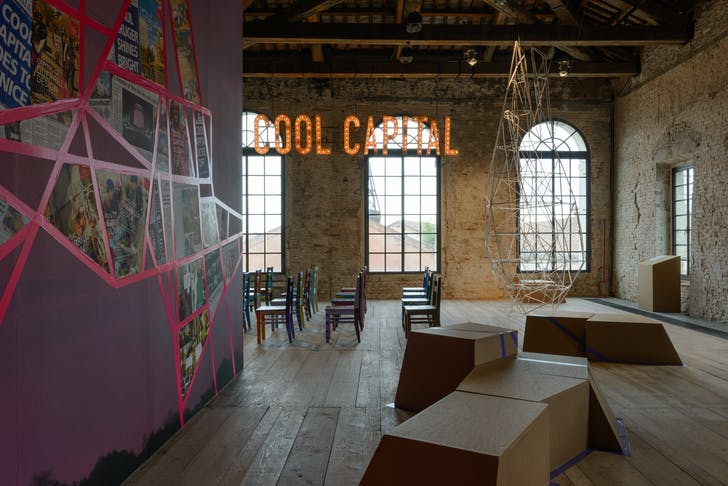 Republic of South Africa, 'Cool Capital: The Capital of Guerrilla Design Citizenship'. Photo by Andrea Avezzù, courtesy of La Biennale di Venezia.