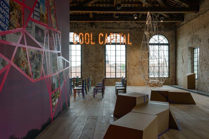 Republic of South Africa, 'Cool Capital: The Capital of Guerrilla Design Citizenship'. Photo by Andrea Avezzù, courtesy of La Biennale di Venezia.