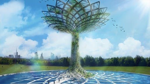 'Tree of Life', Concept Marco Balich, Design in collaboration with Studio Gio' Forma