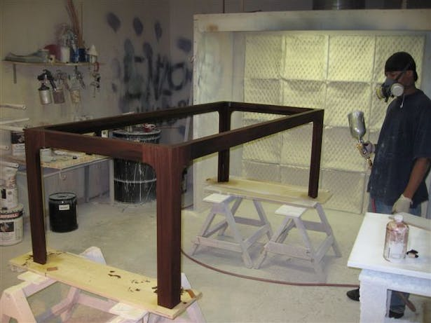 during fabrication