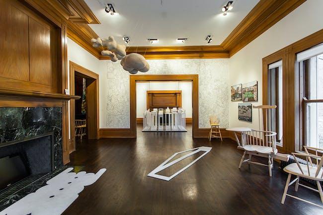 "View of ""Treatise: Why Write Alone?"", 2015, Graham Foundation, Chicago. Photo Matthew Messner."