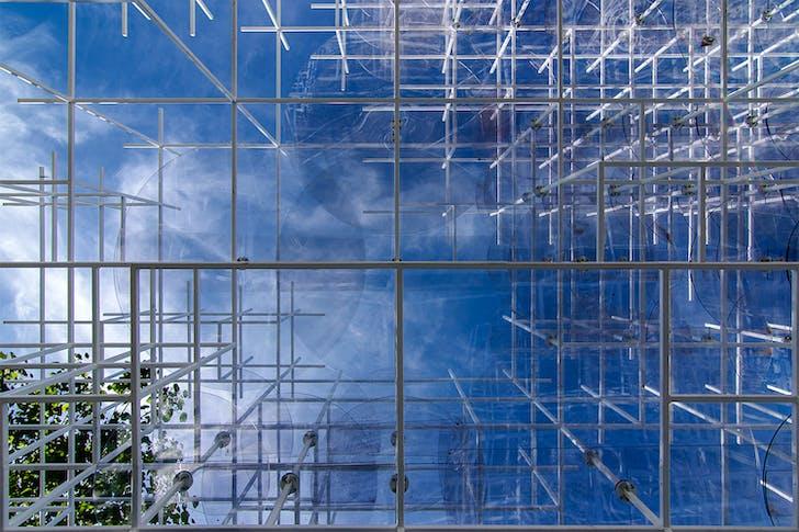 Serpentine Gallery Pavilion, London. Architect: Sou Fujimoto. © Edward Neumann / EMCN