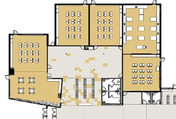GREENMAN ELEMENTARY, Aurora IL, Cordogan, Clark & Associates and Architecture for Education, Architect