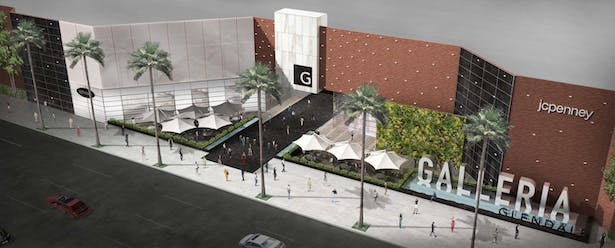 Glendale Galleria renovation by Kevin Kennon Architects, ELS Architecture and Urban Design, and RSM Design