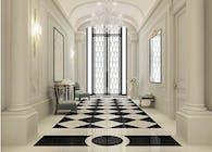Black and White Hallway Design Ideas
