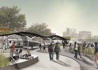 Downtown masterplan for Far Rockaway, NYC