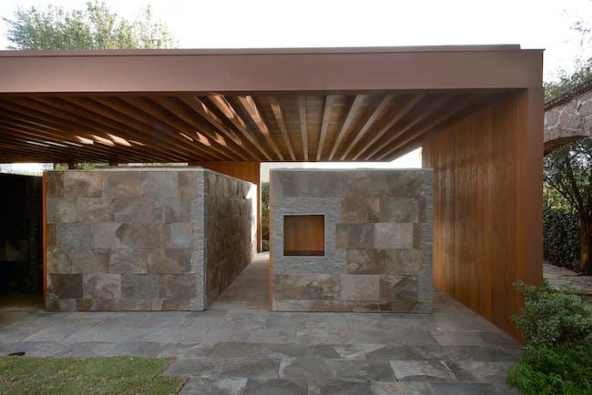 Estudio Macías Peredo: Terrace | photo: Jaime Navarro