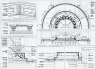 2006 - East Hampton Residence. Dome Costruction Detail, AutoCAD